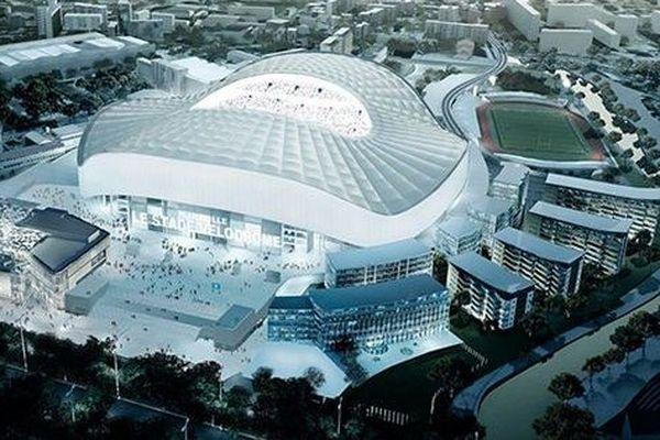 Voici à quoi devraient ressembler les abords du stade Vélodrome en 2017.