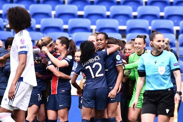 Les Parisiennes se sont imposées 2 à 1 face aux Lyonnaises.