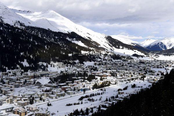 Davos, en Suisse ( Illustration)