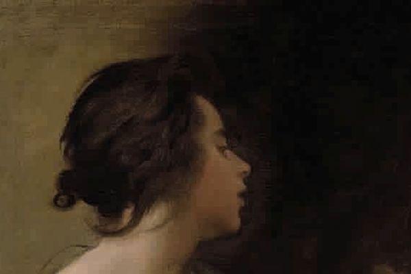 Allégorie féminine (Muse ? sibylle ?) vers 1645-1655  huile sur toile , 64 x 58 cm  Dallas, Meadows Museum