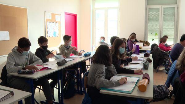 La classe de 5e d'Emmanuelle
