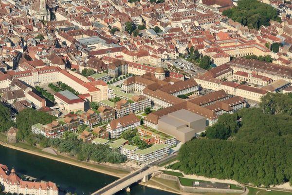 Le projet de Nouveau programme immobilier sur l'ancien site de l'hôpital Saint-Jacques à Besançon
