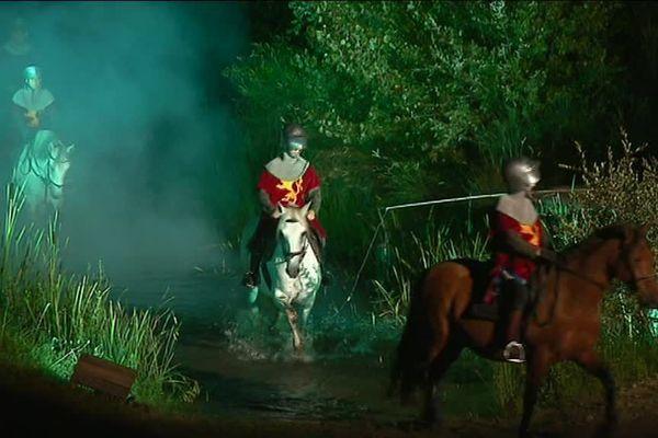 Treize représentations de la Bataille de Castillon seront données jusqu'au 25 août.