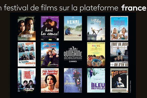 La Quinzaine des réalisateurs à l'honneur sur France.tv.