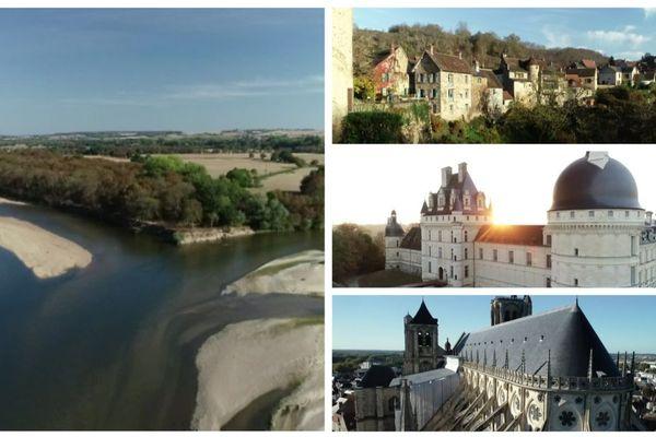 Le Bec d'Allier, Gargilesse-Dampierre, Valençay et la cathédrale de Bourges. Autant de lieux emblématiques du Cher et de l'Indre.