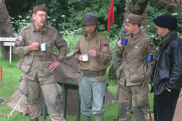 Le temps d'un week-end, ces figurants ont honoré la mémoire des femmes et hommes qui se sont distingués durant la seconde Guerre mondiale.