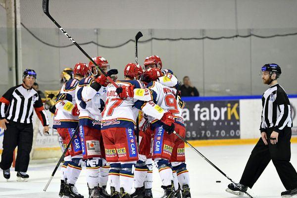 Match Rouen-Grenoble à la patinoire de l'Ile Lacroix le 29 mars 2019