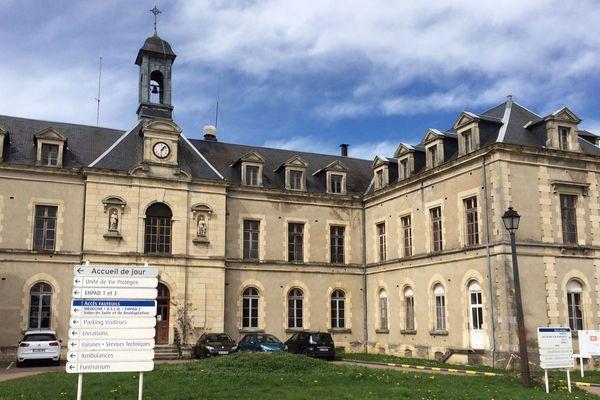 L'hôpital de Château-Chinon, le 11 avril 2018.