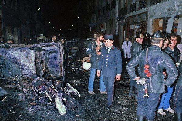 L'attentat survenu devnat la synagogue de la rue Copernic, à Paris, avait fait 4 morts et une quarantaine de blessés.