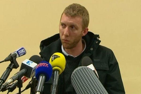 La conférence de presse donnée par Alexandre Berceaux