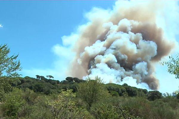 Les incendies de Générac, entre juillet et août 2019