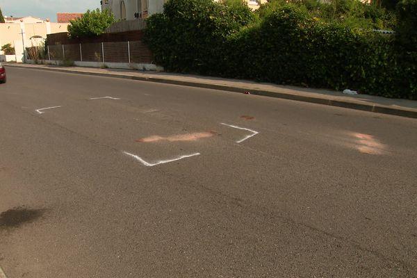 Sur le lieu de l'accident à Montpellier, un enfant de neuf ans projeté à une vingtaine de mètres est en urgence absolue.