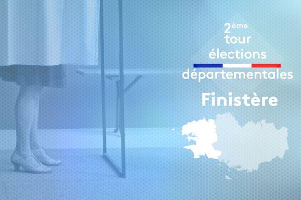 2ème tour des élections départementales 2021 dans le Finistère