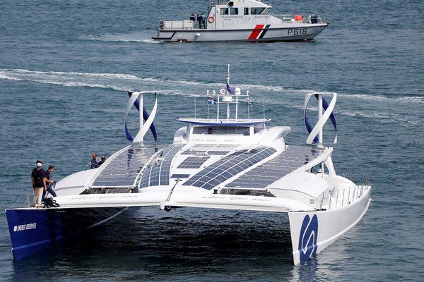 L'Energy Observer reste à Cherbourg jusqu'au 3 septembre