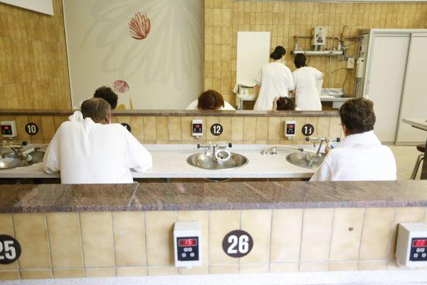 Depuis leur réouverture fin mai 2021, les thermes de Bourbonne-les-Bains accueillent près de 500 curistes par jour.