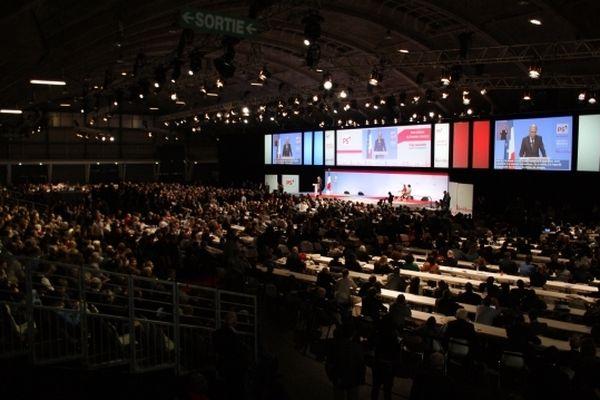 Le congrès du PS se tient au Parc des Expos à Toulouse