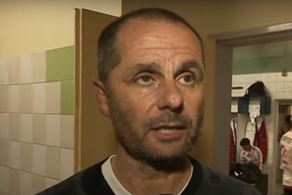 Jean-André Ottaviani, entraîneur du FCBB