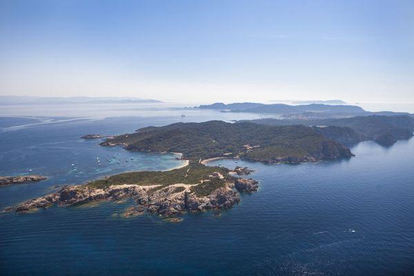 L'île de Porquerolles fleuron du tourisme varois.