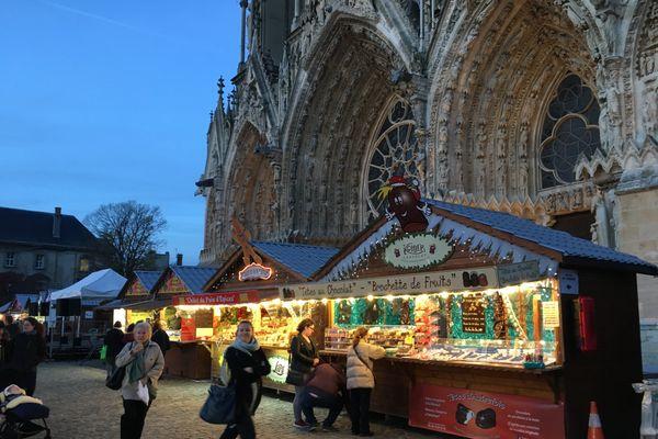 Le marché de Noël de Reims est le troisième plus grand de France