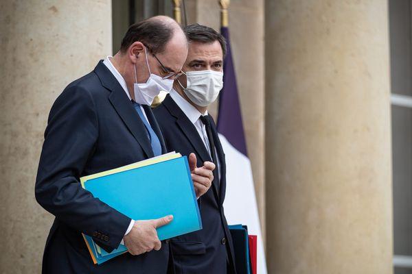 Paris, 3 fevrier 2021 - Sortie du Conseil des Ministres -
