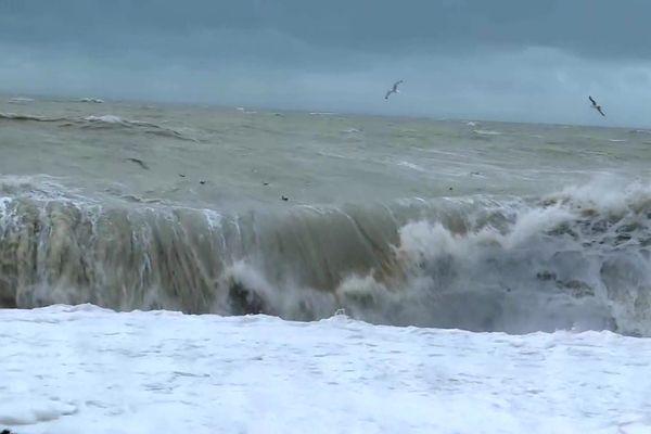 C'est sur le littoral des Hauts-de-France que les plus fortes rafales de vent ont été enregistrées.