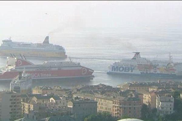 Où se croiseront les navires des compagnies maritimes, à Bastia, dans dix ans?