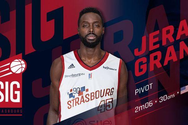 Jerai Grant, première recrue de la saison 2019-2020 à la SIG
