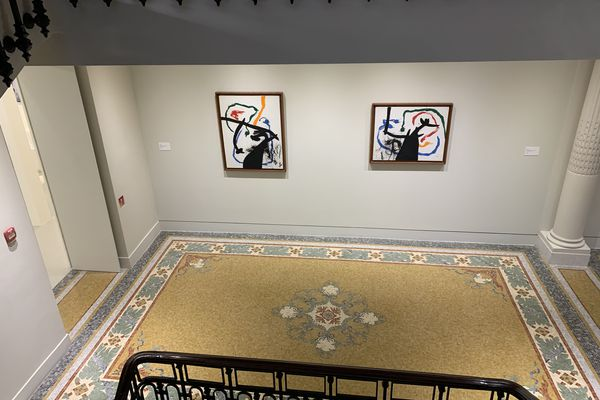 """L'exposition """"la Peinture au défi"""" rassemble 64 œuvres de Miró"""
