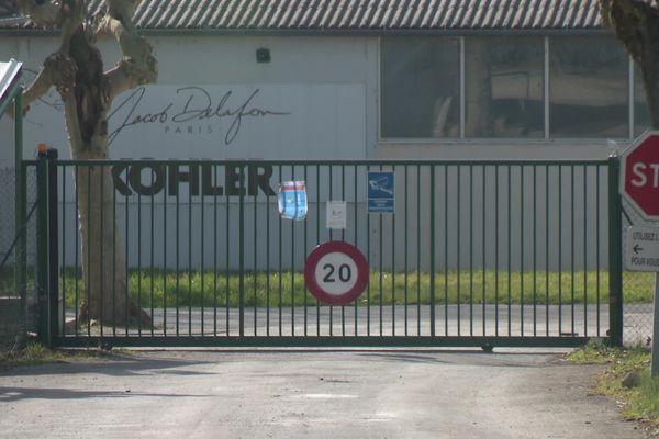 L'usine Jacob Delafon à Damparis appartient au groupe américain Kohler.
