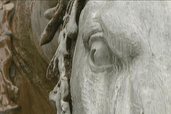 C'est la maison de fondeurs Gaget Gauthier et Cie, avec laquelle Bartholdi a déjà coopéré pour la statue de la Liberté en 1886, qui a développé la technique de sculpture dite du plomb martelé. Une technique issue de l'orfèvrerie puis de la cuivrerie d'art.