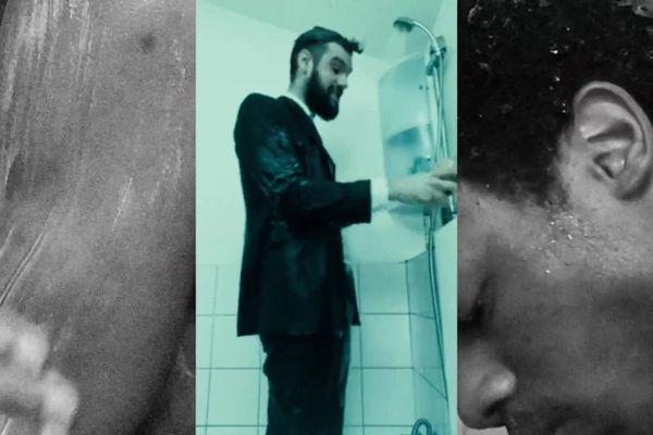 Fées en version confinée... dans une salle de bain.