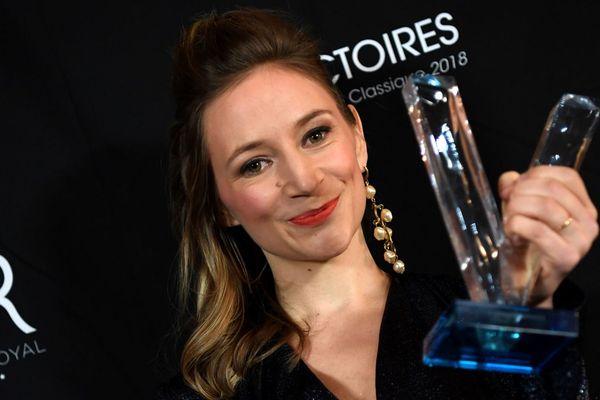 Sabine Devielhe a reçu ce vendredi soir la Victoire de l'artiste lyrique