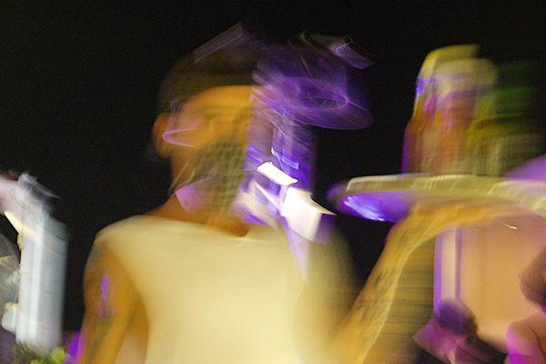 De l'alcool et de la musique ont animé cette soirée d'anniversaire clandestine (image d'illustration).