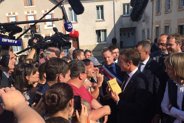 Emmanuel Macron est ce mercredi 13 juin en visite en Vendée pour rendre hommage à George Clemenceau.