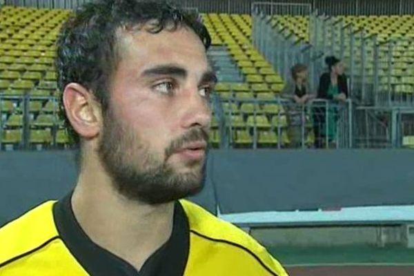 Samuel Marquès a marqué 28 points à lui tout seul lors de la rencontre de Albi / Béziers