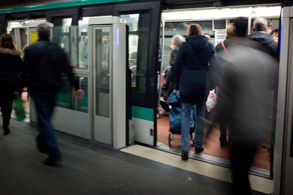 La moitié des agressions sexuelles dans les transports en commun en France ont lieu à Paris (photo d'illustration)