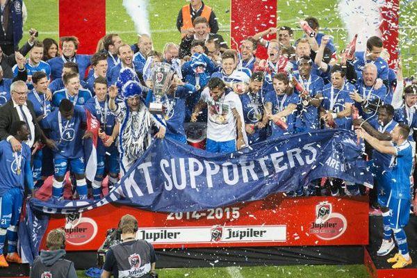 La Gantoise remporte pour la première fois le championnat de Belgique.