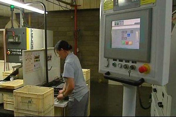 L'entreprise est spécialisée dans l'usinage de pièces automobiles.