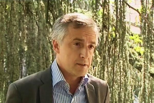 """F.X. Dugourd est le Président du groupe municipal d'opposition """"Initiatives Dijon"""" (archives juin 2011)"""