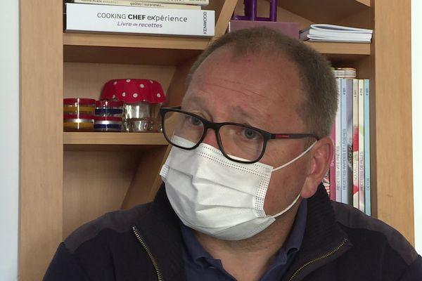 Jean-Louis Rossi, directeur industriel des Eaux d'Orezza, visé par une deuxième procédure de licenciement.