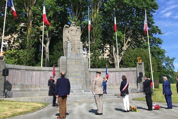 Commémorations du 8 mai 1945 : ni public, ni anciens combattants. Ici à Saint-Brieuc dans les Côtes d'armor