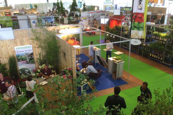 Le Salon du Végétal s'est tenu à Nantes pour la première fois, du 20 au 22 juin 2017.