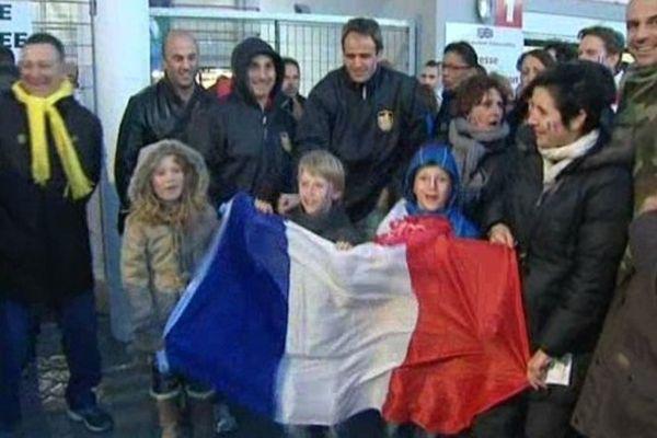 A Perpignan, le public est venu nombreux soutenir l'équipe de France de rugby à XIII
