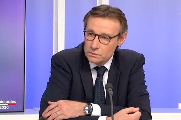 Pascal Demarthe est le nouveau maire d'Abbeville dans la Somme à l'issue du second tour des municipales 2020.