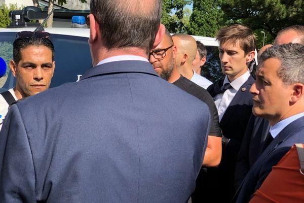 Habitant du quartier depuis 40 ans, Hamid a pu discuter avec Jean Castex, le Premier ministre.