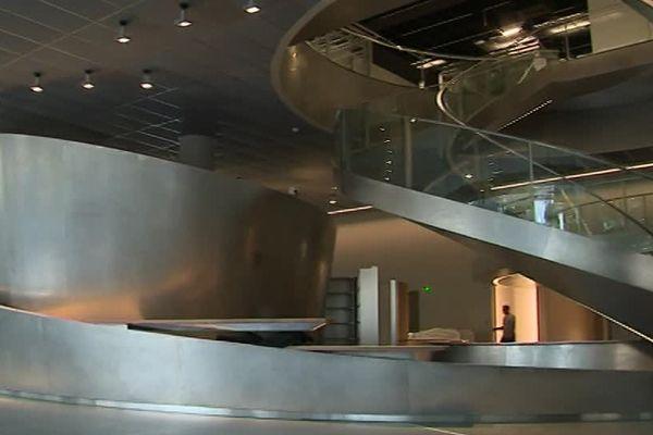 L'escalier monumental, que le public pourra découvrir à partir du 2 juin 2018.