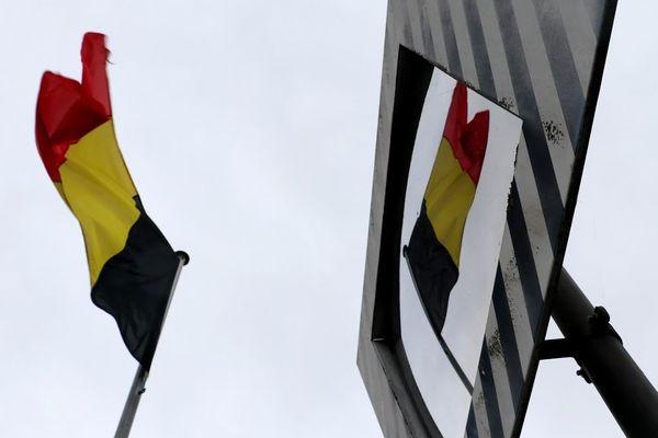 Un drapeau de la Belgique