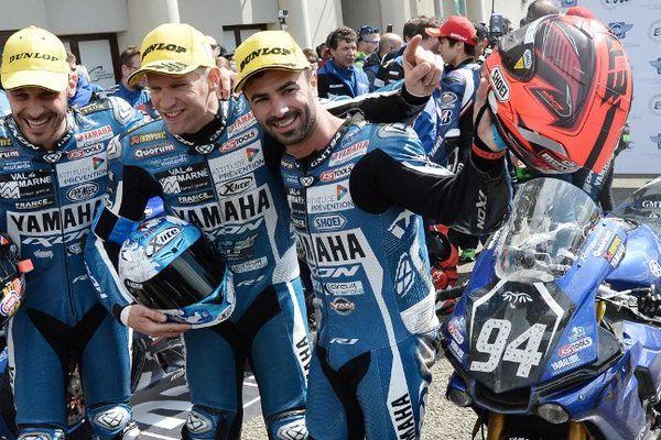 L'Espagnol David Checa, l'Italien Niccolo Canepa et le Français Mike Di Meglio remportent les 24 heures du Mans.