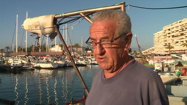 Jacques Ramagosa, pêcheur retraité à Saint-Cyprien dans les Pyrénées-Orientales - juin 2019