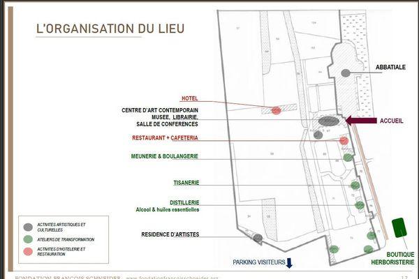 Projet de développement du Domaine de Pontigny porté par la Fondation Schneider